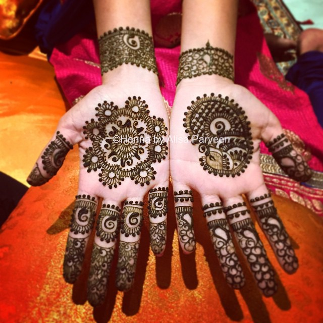 Simple-wedding-henna-The-Maharani-Diaries
