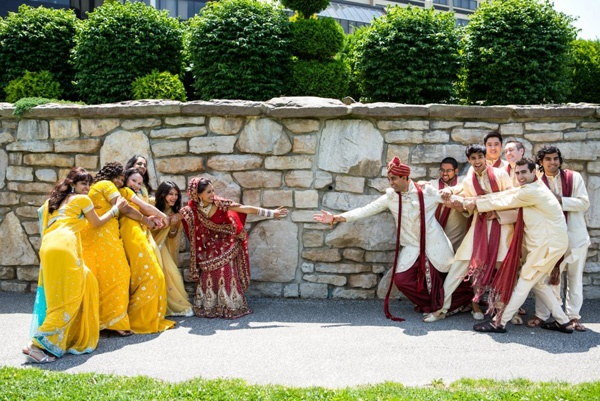 Bridal party tug of war | The Maharani Diaries