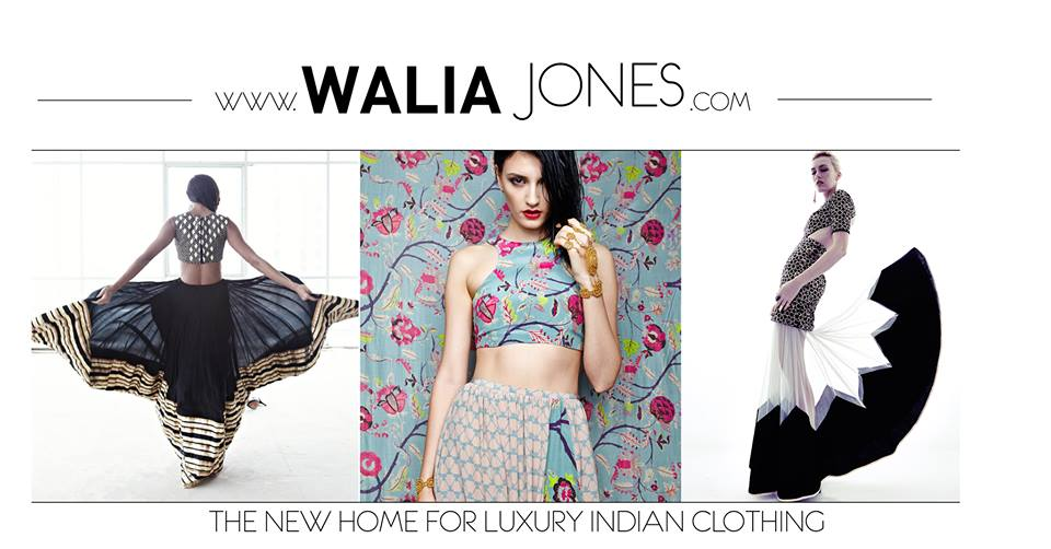 Introducing 'WaliaJones' – The New Home for Luxury Indian Clothing