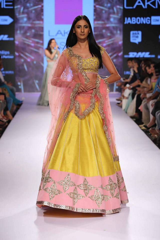 Anushree-Reddy-LFWSS15-Lehnga-The-Maharani-Diaries