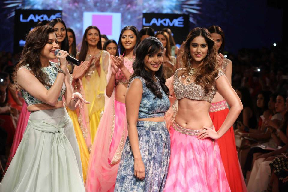 Anushree Reddy:Kanika Kapoor:Ileana - LFWSS15 | The Maharani Diaries