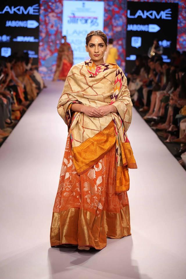 Gaurang-Shah-LFWSS15-Lehnga-The-Maharani-Diaries