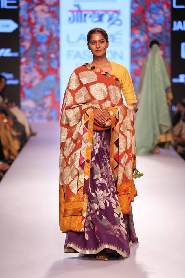 Gaurang-Shah-LFWSS15-Sari-The-Maharani-Diaries