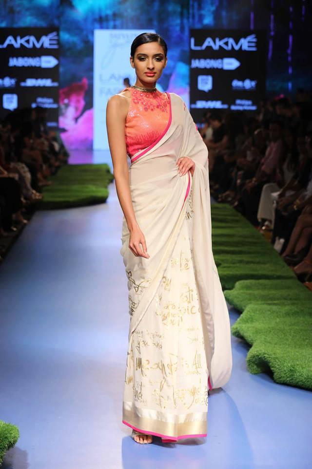 Gauri-Khan-Satya-Paul-LFWSS15-sari-The-Maharani-Diaries-