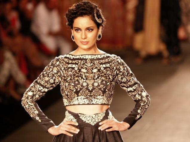Bollywood actress, Kangana Ranaut expect to walk the ramp for Manav Gangwani.