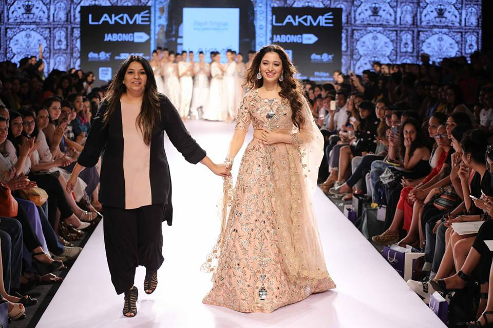 Designer, Payal Singhal with Bollywood actress, Tamannah