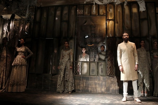 Sabyasachi for AICW15 (via The National AE) | The Maharani Diaries