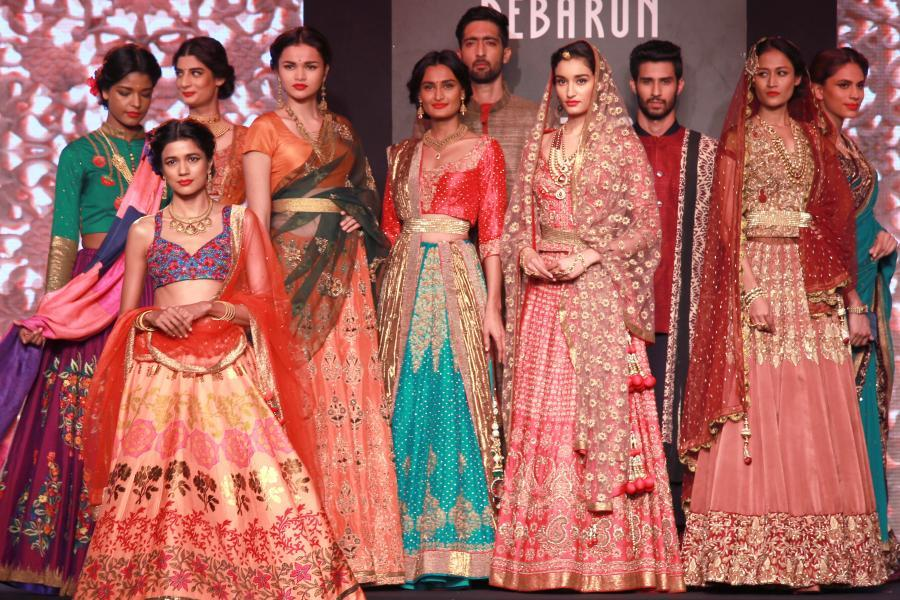 Debarun - AICW15 | The Maharani Diaries (Photo: Amlan Paliwal/IANS)