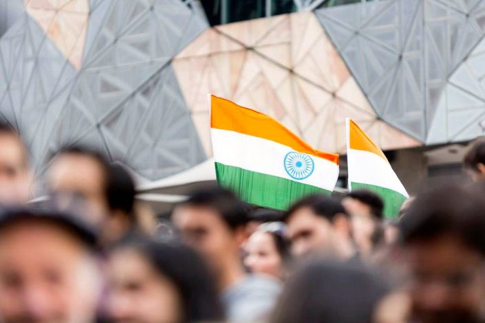 Indian Film Festival Melbourne 2015 - Flag Hoist Event Anil Kapoor - The Maharani Diaries