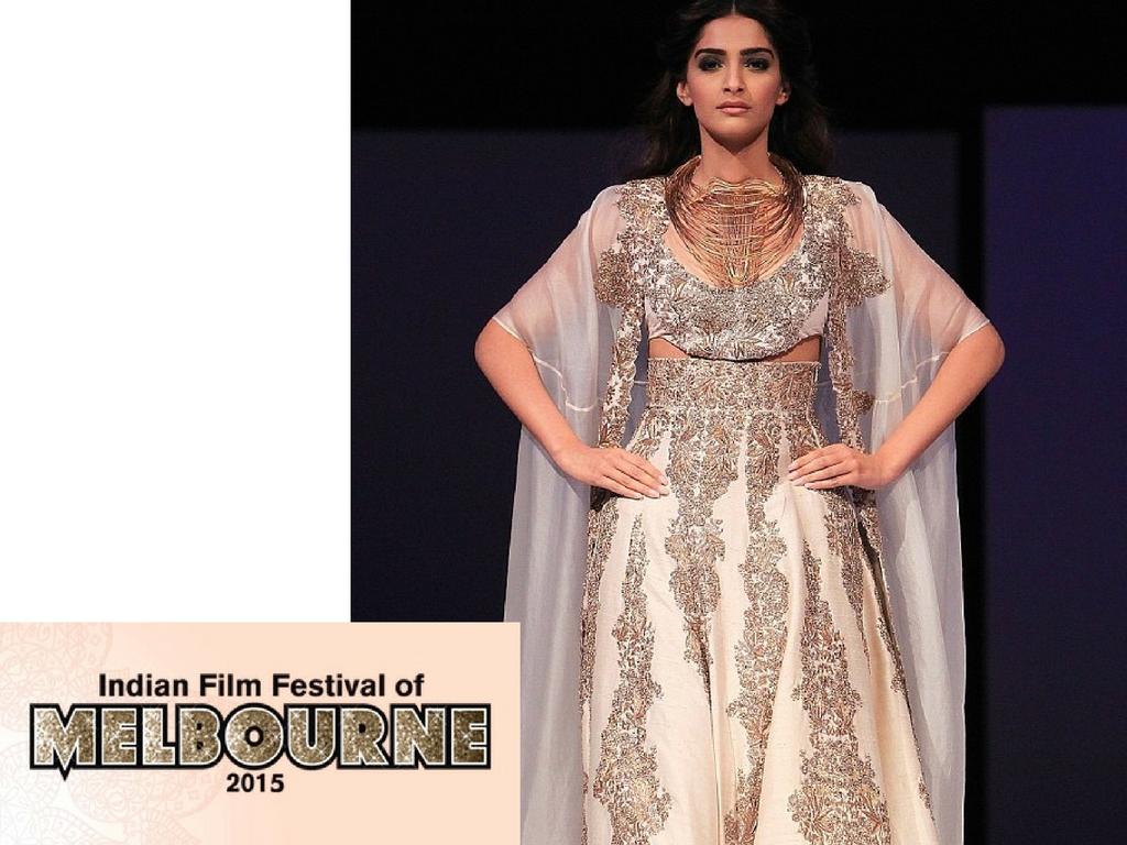Indian Film Festival Melbourne 2015 - Sonam Kapoor in Anamika Khanna - The Maharani Diaries