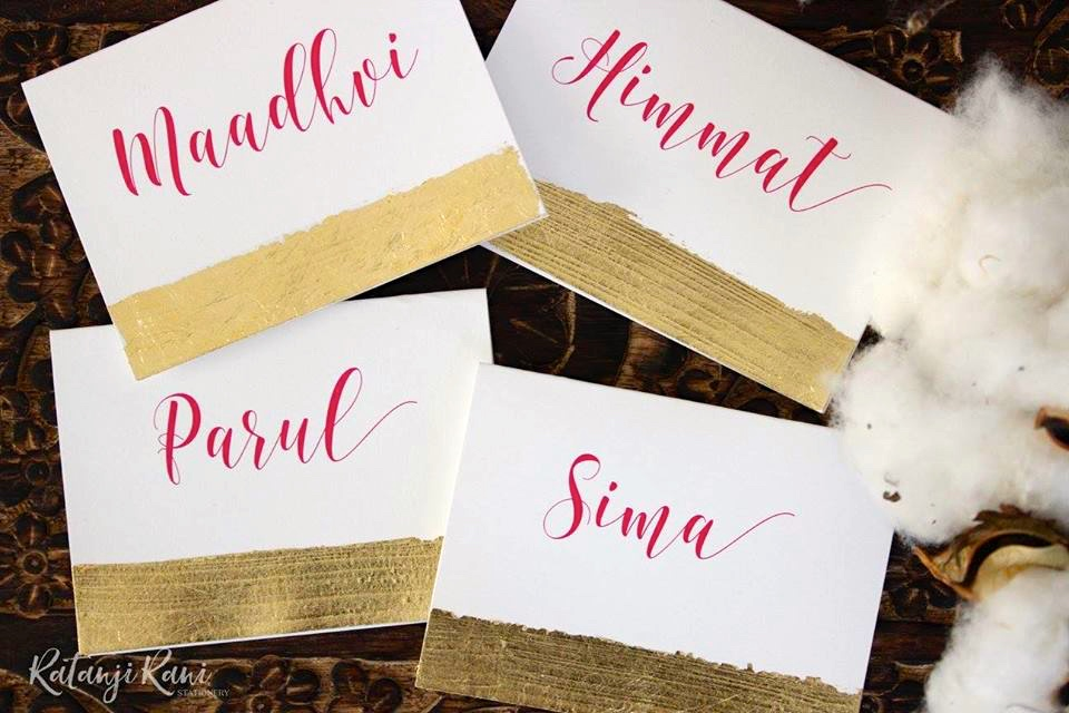 Bespoke Indian Wedding Stationery by Ratanji Rani - The Maharani Diaries