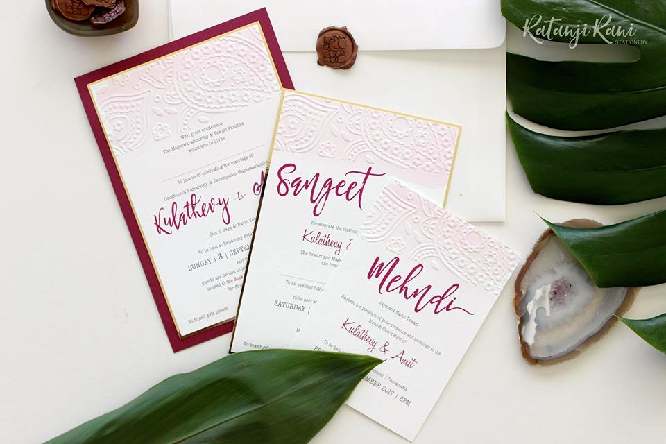 Introducing Ratanji Rani - Bespoke Wedding Stationery - The Maharani Diaries