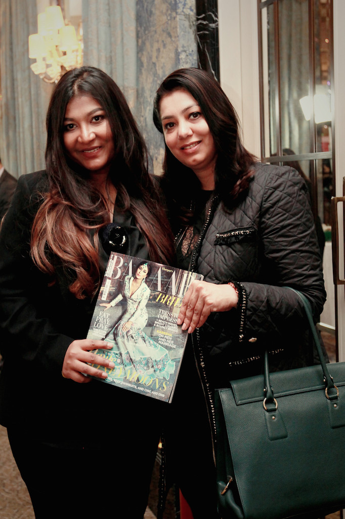 Aashni with editer of Harpers Bazaar Bride India, Nupur Mehta