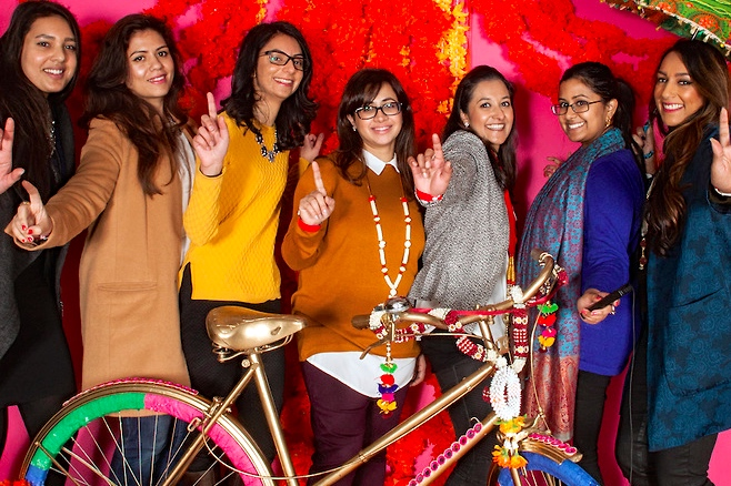 Bloggers at Aashni Show | The Maharani Diaries