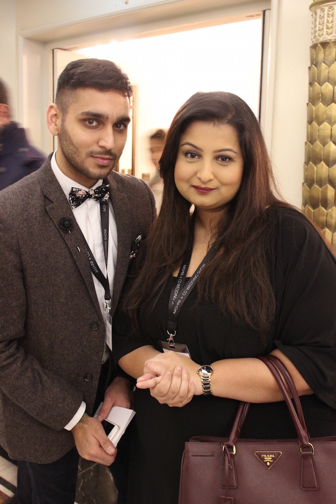 Fashion stylist, Vikas Rattu and editor of Khush Magazine, Sonia Ullah