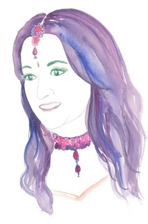 Poonam from The Maharani Diaries