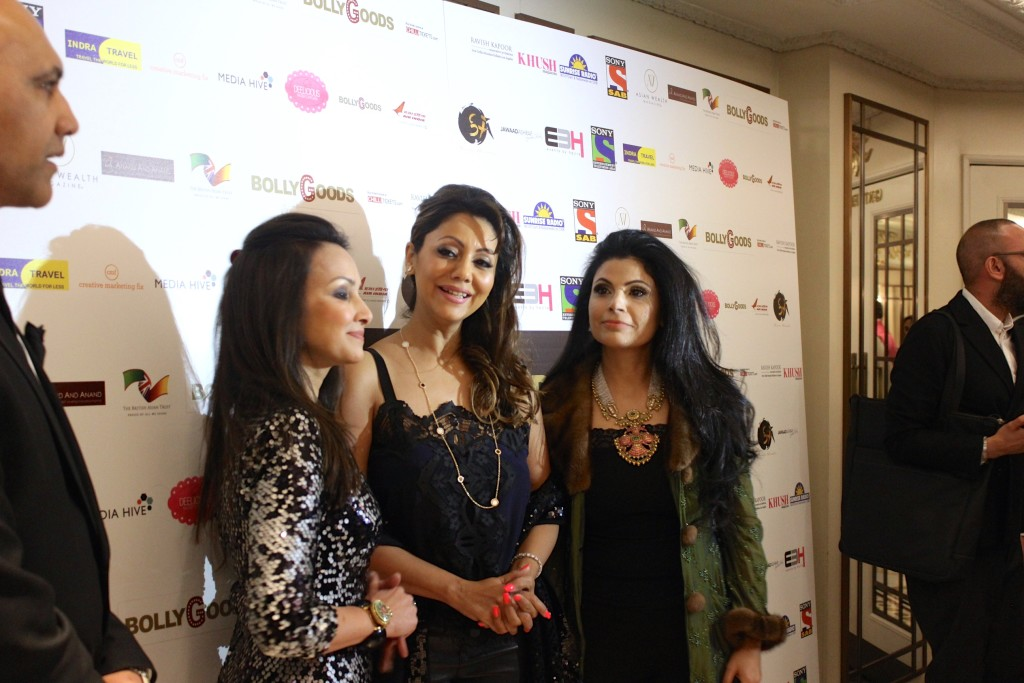 From left: Founder, Promila Jain Bahri, Gauri Khan, Shivani Ahluwalia