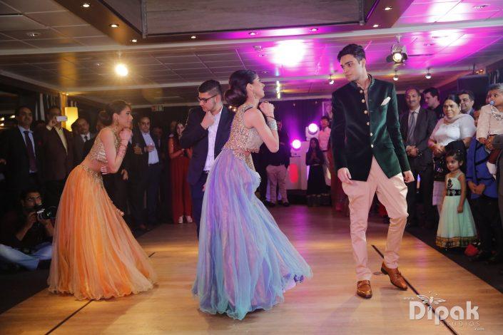 Ankita & Manmeet Fairytale Indian Wedding - Sangeet Party - The Maharani Diaries