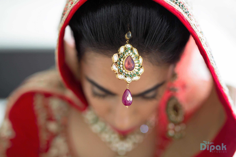 Bride Ankita on her Wedding Day - Ankita & Manmeet Fairytale Indian Wedding in Amsterdam - The Maharani Diaries