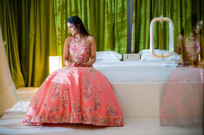 Bride Ankita - Ankita & Manmeet Indian Wedding in Amsterdam - The Maharani Diaries