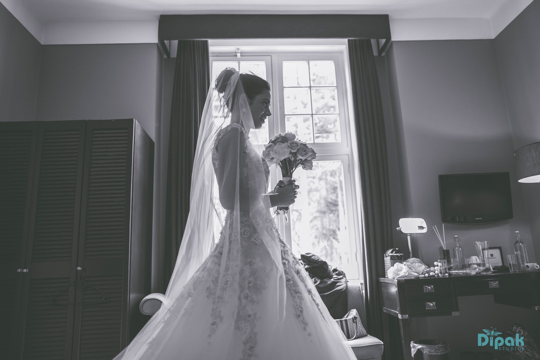 Elie Saab Bride, Ankita on her wedding day - Ankita and Manmeet Fairytale Amsterdam Wedding - The Maharani Diaries
