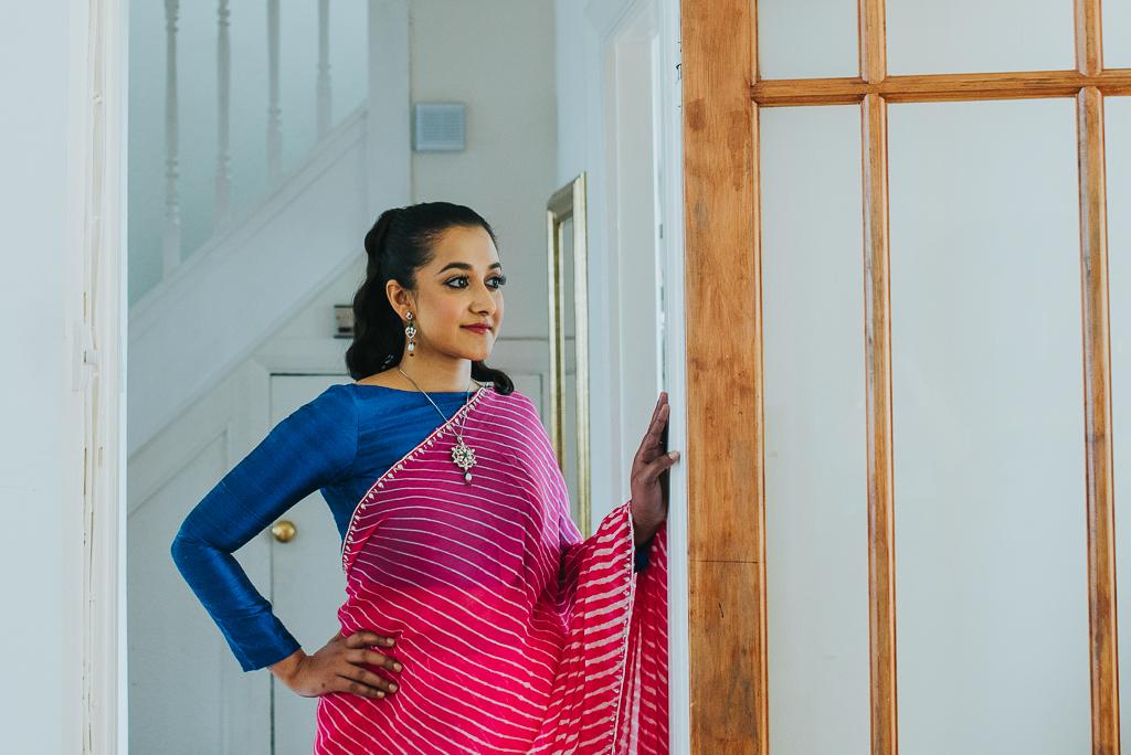 Bhandani saree | The Maharani Diaries