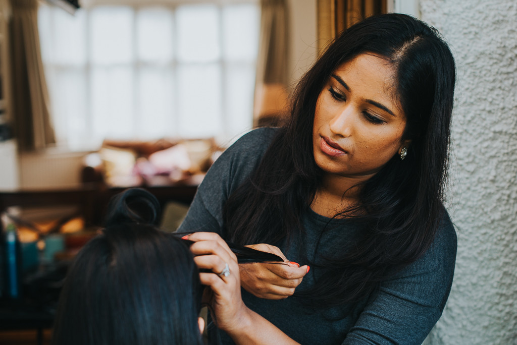 Hair styling - Shalomi | The Maharani Diaries