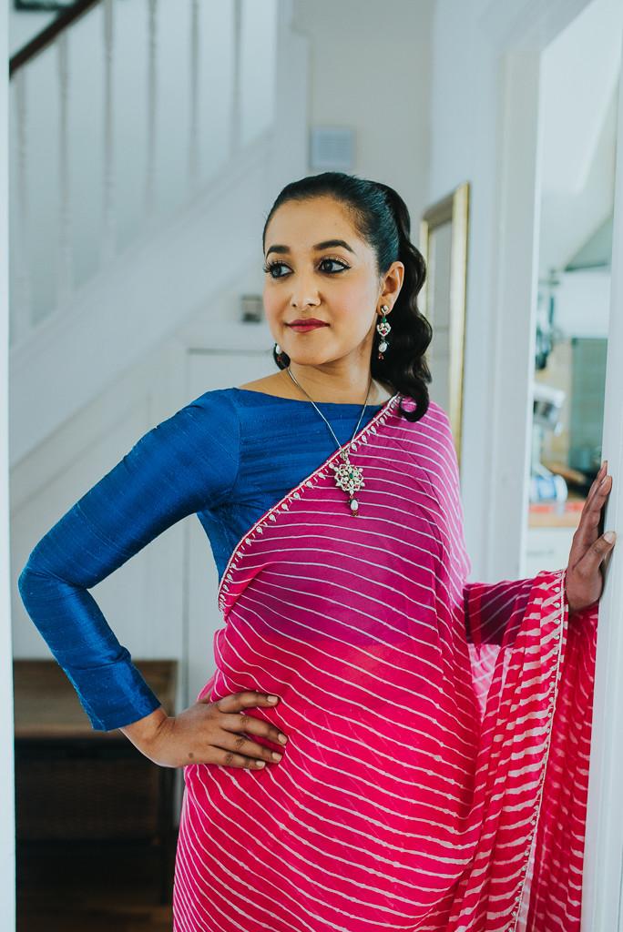 Jyoti Chandhok saree | The Maharani Diairies