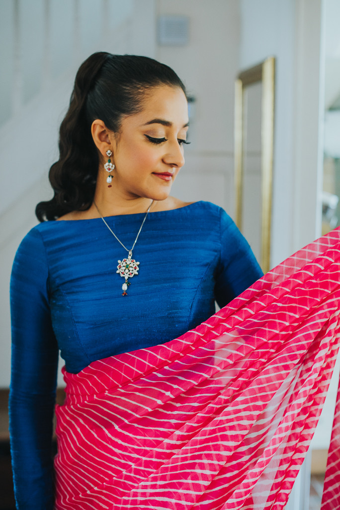 Raw silk blouse | The Maharani Diaries