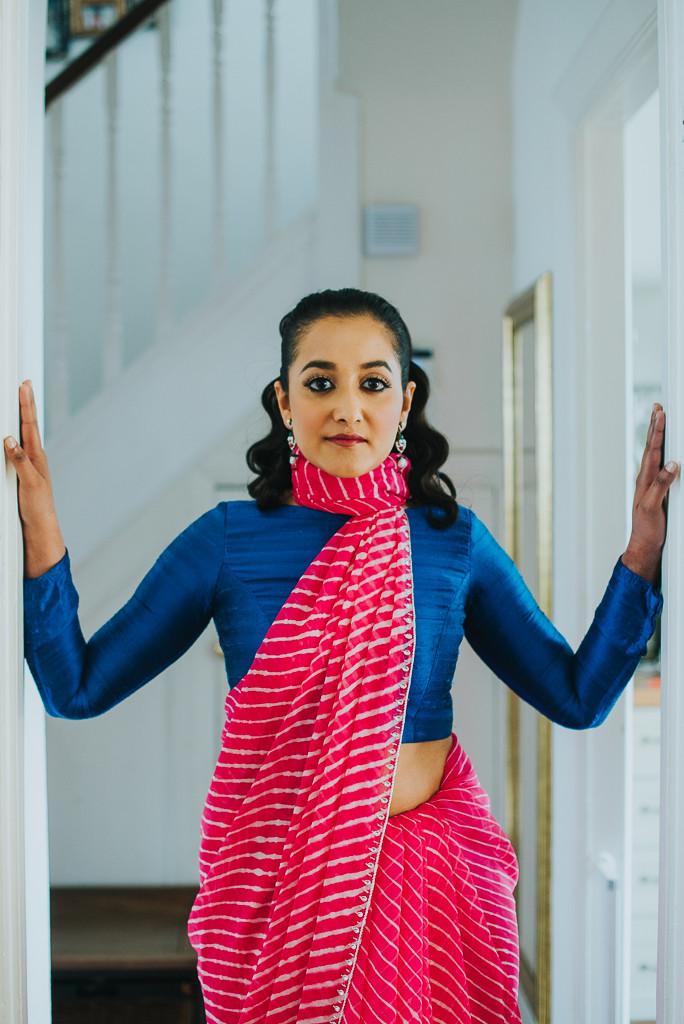 Saree drape style | The Maharani Diaries