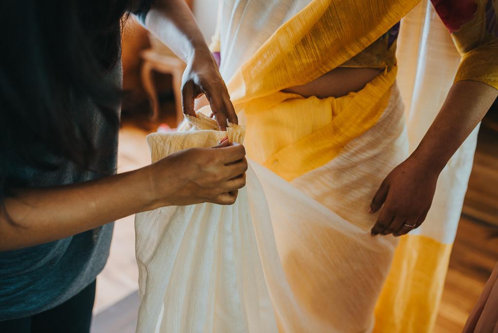 Saree styling | The Maharani Diaries