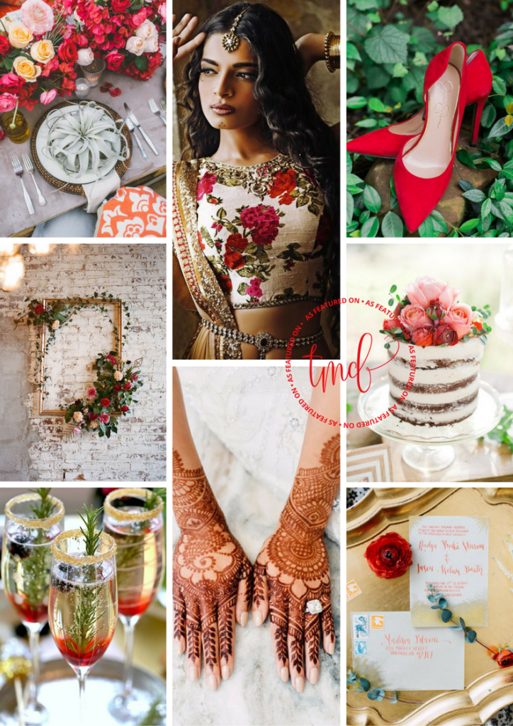 Modern Rustic Valentines Wedding Inspo | The Maharani Diaries